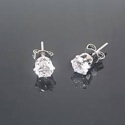 Mini Order USD15 Free shipping Princess imitation diamond stud earrings earrings BE168(China (Mainland))