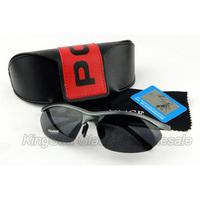 Brand New Polarized Magaluma Sport Sunglasses Polaroid Eyewear men's Sunglasses +Retail Pack Wholesale Free Shipping 10pcs/Lot