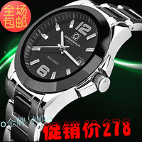 Watch table waterproof cutout fully-automatic mechanical watch lovers table white ceramic table