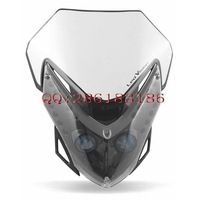 For acer bis off-road motorcycle head cover refires grimace headlights grimaces hood led headlight