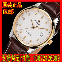 Strap watch male mechanical watch fully-automatic male watch ultra-thin male mechanical watch