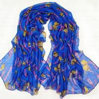 2012 women's lengthen scarf chain buckle fluid scarf fashion large cape