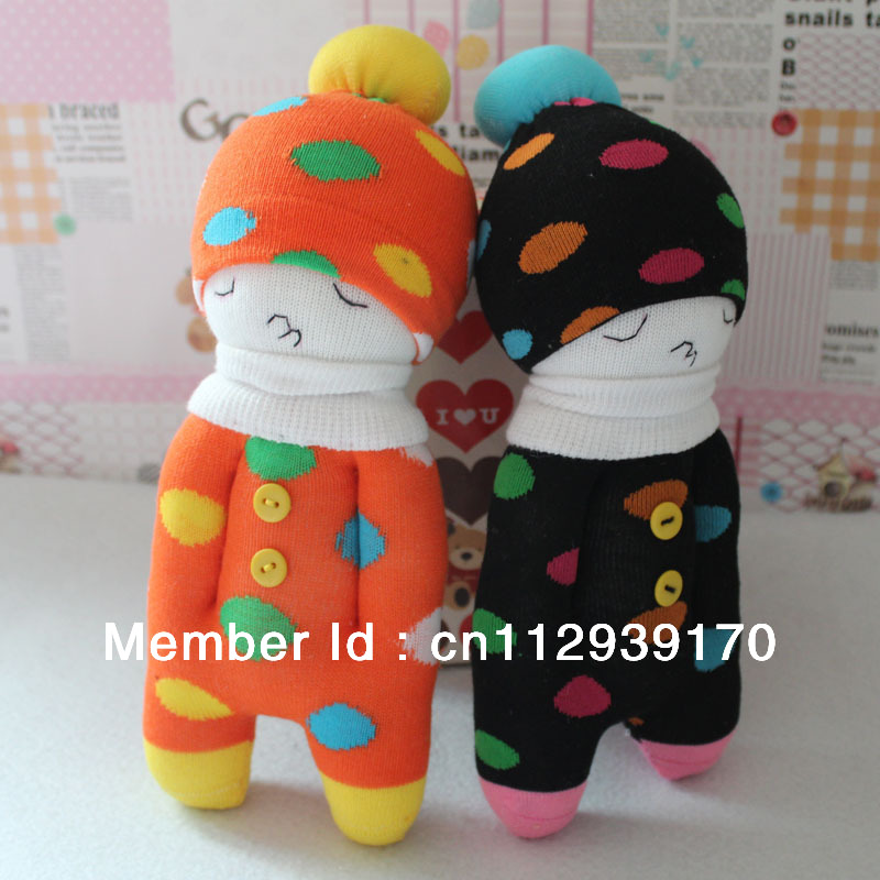 Hot Birthday Gifts Soft DIY Socks Lover Dolls with hands in pocket(China (Mainland))