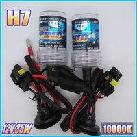 2PCS Super Bright 12V 35W HID XENON H7 10000K Car HeadLight Lamp bulb