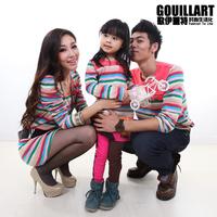 Family fashion 2013 family pack spring long stripe a359 family set t-shirt