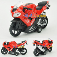Free shipping Acoustooptical motorcycle racing car street bike WARRIOR alloy model toy
