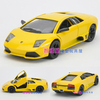 Free shipping Soft world lamborghini sports car lp640 alloy car model toy