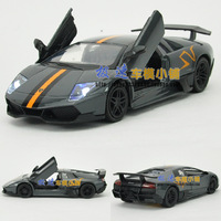 Free shipping Lp670-4 acoustooptical WARRIOR lamborghini alloy car models