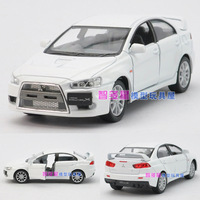 Free shipping Soft world MITSUBISHI lancer WARRIOR alloy car model toy