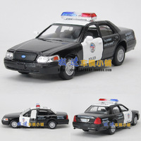 Free shipping Soft world FORD victoria police car 2 alloy car model