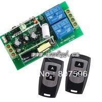 Дистанционный выключатель HK Post AC85V~250V 1CH AC110V RF Wireless Remote Wireless Electrical Latched Switch 30A Receiver&Transmitter