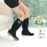 Free Shipping, 2013 Newest Winter Woolen Lady Snow Boots, Sexy Bleak Orange Brown Women Boots WLY662