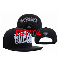 New Arrival Bad Boy Good Girl Snapback Baseball Snapback Caps Hats BLACK / WHITE