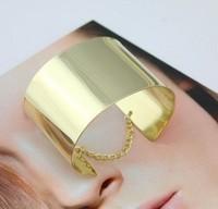 Min.order $15usd Fashion metal mirror c-0053 chain fashion gold punk bracelet 8090 Jewelry