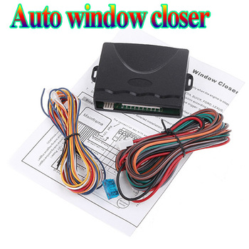 Auto Car alarm security system Window closer Power Window Roll Up Closer Module for Car Alarm module for 4 Doors free shipping