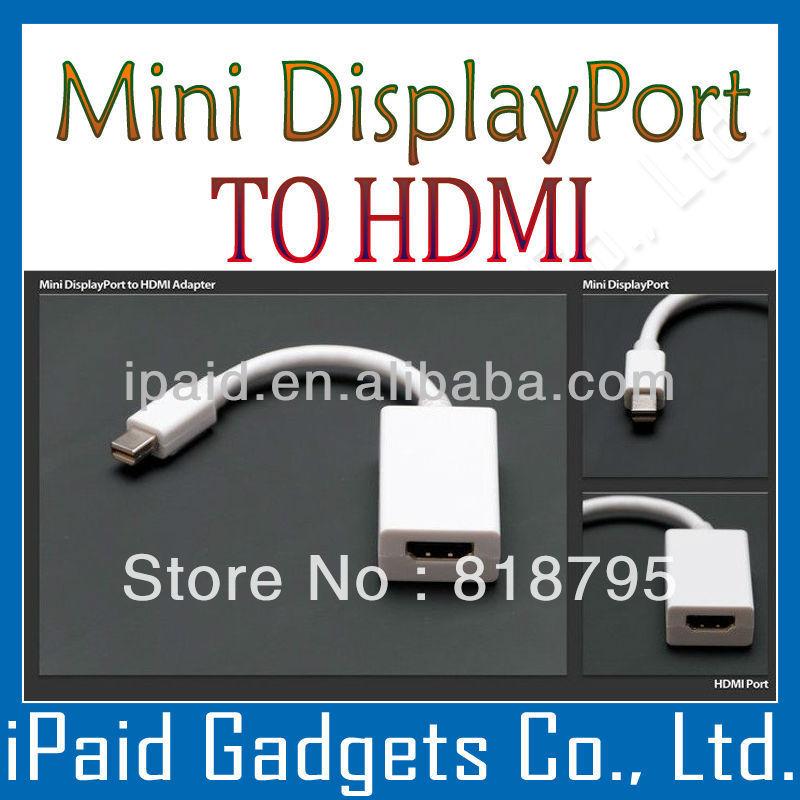 [ 100pcs / lot ] Standard Packing By Fast Shipping MAC Air Pro Mini DP Mini Display To HDMI(China (Mainland))