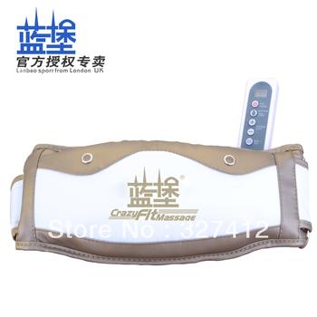 Heated fat burning belt weight loss massager machine vibration massage slimming thin waist belt stovepipe instrument equipment