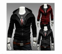 New coats outwear Mens Special Zip Up Hooded Hoodie Jacket  Top Clothes  [07-1707]