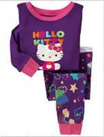baby pajamas long sleeve baby set good quality sleep wear cotton suits purple color