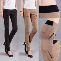 2013 new fashion elastic waist harem pants butt-lifting pencil pants women's trousers