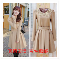 Mushroom spring female skirt long-sleeve plus size autumn and winter one-piece dress winter dress juniors dress women's