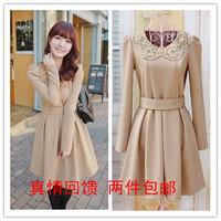 Mushroom spring female skirt long-sleeve plus size autumn and winter one-piece dress winter dress juniors dress women's