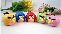 Hot sell Gift MINI Birds MP3 music Player 6 color support 32GB Micro SD(TF) card slot Freeshipping