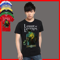 T-shirt lol T-shirt male short-sleeve t shirt