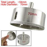 70mm Diamond Core Drilling Tool Glass Plate Hole Saw Tool