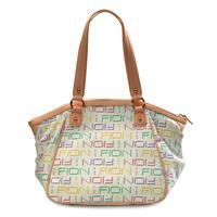 2012 multicolour printing shoulder bag