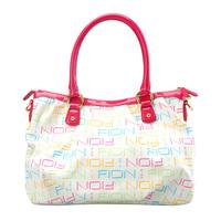Card romantic brilliant pink shoulder bag
