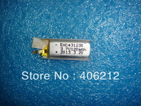 Wholesale  3.7v 120mAh small Rechargeable LIPO Battery chice without PCM 4.3*12*30,50pcs/lot