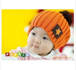 2010 candy color hat pentastar fashion cap discontinuing 3 color knitted hat(China (Mainland))