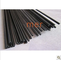 Carbon fiber tube: 3 x2x1000mm carbon fiber tube of carbon/carbon fiber bar/rod/tubes/kite model accessories