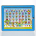 New Arrival Y Pad Spanish learning Machine ipad Laptop computer Educational toy with music and Led Light 96PCS/Lot