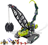Bela Ninjago Fangpyre Wrecking Ball 9761 Building Block Sets 415pcs L9457 Educational Jigsaw DIY Construction Bricks toys