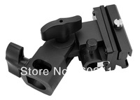 FOTGA Bracket Flash Shoe Umbrella Holder Swivel Light Stand B