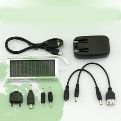 Solar USB AC Power Portable Charger for Cell Phone PDA(China (Mainland))