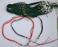 Emanuel Diy rope necklace pendant rope jade lanyard diaosheng pendant rope