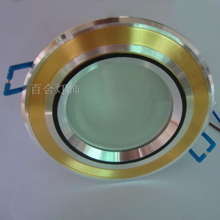 Downlight antimist anti-fog led downlight bright 3w energy saving lamp light source(China (Mainland))