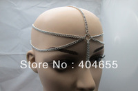 New Grecian Women Silver Head Metal Chain Fashion Jewelry Hair Band Head Piece