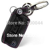 Genuine Leather Key fob Cover Key Case wallet Key Holder for HAIMA flip key FAMILY  FAMILY VS HAIMA 7 car accessories