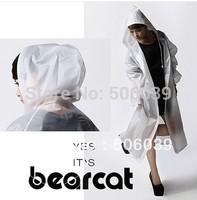 free shipping raincoat poncho ultra-thin personality raincoat grind arenaceous translucence adults rainwear