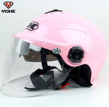 Motorbike racing helmets Masks 2012 double lenses motorcycle helmet yh-350a free shipping