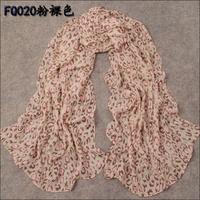 Spring scarf women's silk long design spring and autumn rustic scarf silk scarf female
