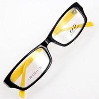 Leo black eyeglasses full frame myopia glasses frame non-mainstream eye frame 1193