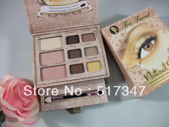 1pcs brand makeup New naked eye kit,9 colors eyeshadow,soft & sexy eye shadow collection set,Best selling,free shipping