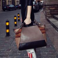 Cat bag fashion personality patchwork casual bag shoulder bag handbag messenger bag women's handbag m02-142