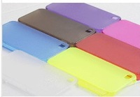 Transparent Case Cover for iPhone 4 4S Clear 0.5mm Ultra Slim Crystal Matte Case for iPhone Free Shipping Wholesale 10pcs/lot