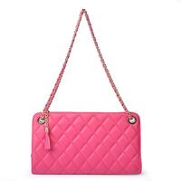 Kamicy 2012 women's handbag dimond plaid bags genuine leather bag fashion handbag cross-body women's handbag small bags